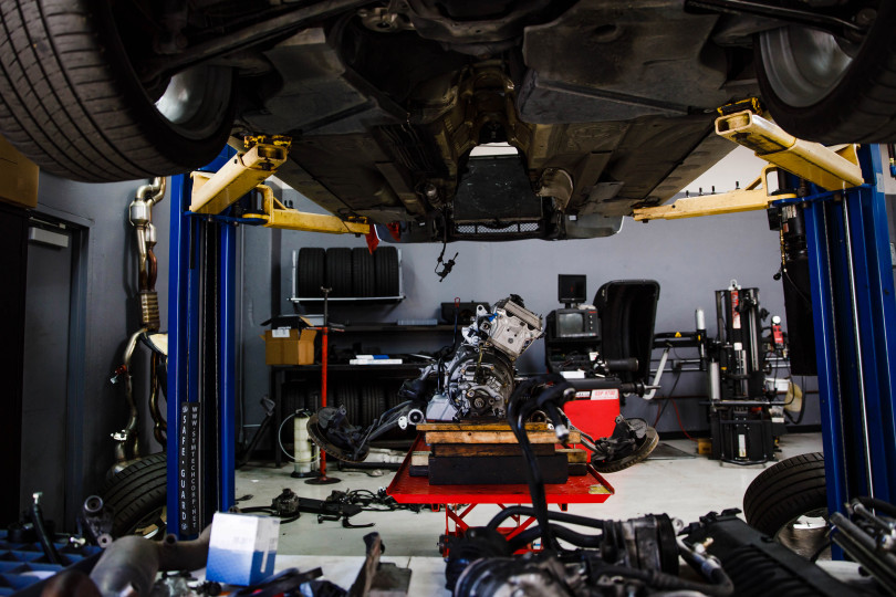 Car Engine Repair At Bavarium Autoworks