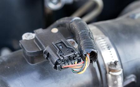 Porsche MAF Sensor Inspection