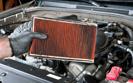 MINI Dirty Air Filter Removal